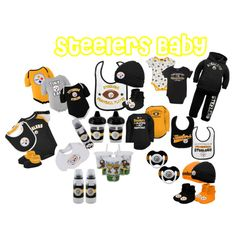 Steelers Baby Clothes Interesting Pittsburgh Steelers Baby Gifts  Steelers Baby  Pinterest Inspiration Design