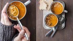 I když se už začíná oteplovat, pořád se nám mohou hodit recepty na syté a hřejivé polévky. Fazolová je jistota, za to vám ručíme! ;) Soup Recipes, Lunch, Dinner, Ethnic Recipes, Food, Soups, Dining, Eat Lunch, Food Dinners