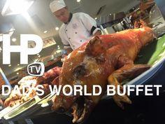 Dad's World Buffet Lunch Saisaki Kamayan Glorietta Ayala Center Makati by HourPhilippines.com - YouTube