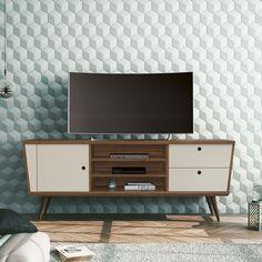 rack retro vintage 1,60m tv até 65p exclusivo lindissimo pés
