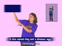 These word family songs are a great way to teach kids to sound out words!  There are three different videos you can watch free from this DVD on YouTube.