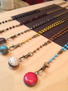 rosary style.
