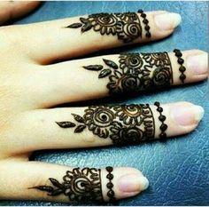 Design for fingers