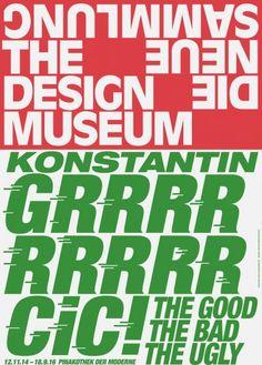 Bureau Borsche – Corporate identity for Die Neue Sammlung (The Design Museum), Munich