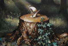 "Upcoming: Esao Andrews – ""Epilogues"" @ Jonathan LeVine Gallery"