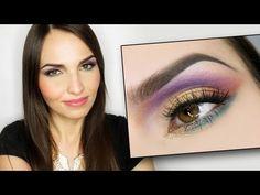 Colourburst - Kolorowy makijaż karnawałowy/ na imprezę - YouTube