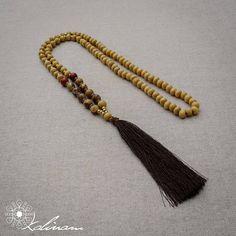 Mala collar 108 perlas de oración Collar de yoga Collar