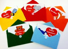 Six Little Valentine's Rhyme and free printable from Sunflower Storytime