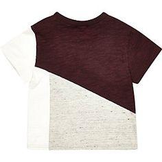 Mini boys block colour t-shirt