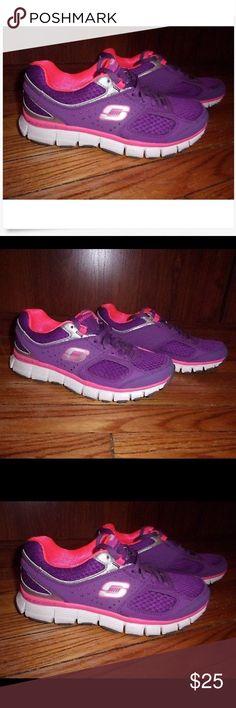 Details about Skechers Sport Womens Running Shoes Size 7M Lightweight Flexsole (D2)