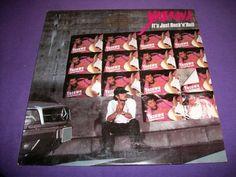"""Eikichi Yazawa - It's Just Rock N Roll - Mint Promo 12"""" Vinyl LP Record - 60199"""