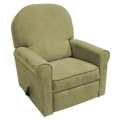 Rockabye Glider Co. Velvet Jayden Recliner Chair -  Lichen  Stand in for existing chair