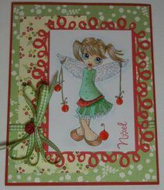 Christmas Noel- beautiful paper crafting card.