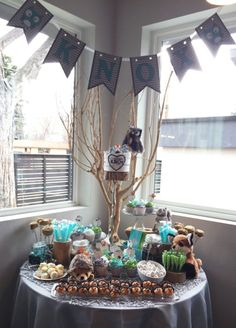 Woodland themed 1st