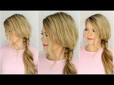 hair Archives - Page 3 of 154 - Missy Sue Fishtail Ponytail, Dutch Fishtail Braid, Ponytail Hairstyles Tutorial, Side Ponytails, Side Braid Hairstyles, Cool Hairstyles, Hair Puff, Hair Humor, Hair Dos