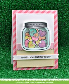 the Lawn Fawn blog: Lawn Fawn Intro: How You Bean? Conversation Heart Add-On