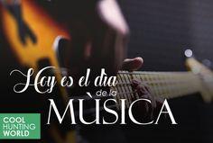 Gráfica Día de la Música para #CoolhuntingWorld
