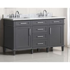 This Beautiful White 60 In Bathroom Vanity Will Add
