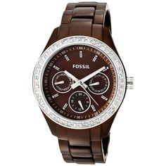 Fossil Ladies' Stella Watch In Brown