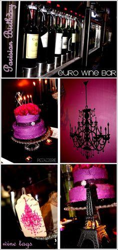 Parisian Birthday Party