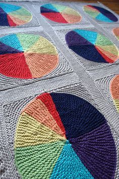 Easy as Pie Blanket : Knitty Spring+Summer 2013. This looks complex for my brand of knitting, but cool concept and colorful!
