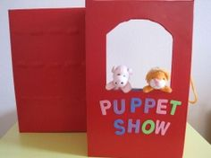 My little girl is now 3 years old and she just starts with role play and puppet play. She loves little finger puppets, telling stories and pretend...