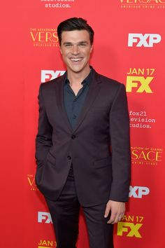 Finn Wittrock Photos Photos: Premiere Of FX's 'The Assassination Of Gianni Versace: American Crime Story' - Arrivals American Crime Story, American Horror Story, I Have A Crush, Having A Crush, Finn Wittrock, In Hollywood, Hollywood California, Evan Peters, Darren Criss