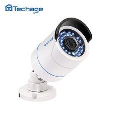 check discount techage 720p 960p 1080p 48v real poe camera indoor outdoor waterproof 2mp hd cctv ip camera #onvif #camera