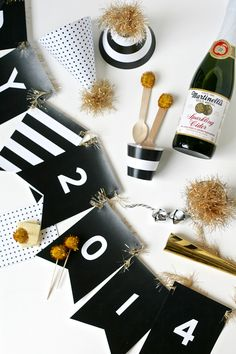 New Years Party Printable Hats