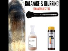 Balayage & Redken Blurring |Going Blonder with Olaplex| - YouTube
