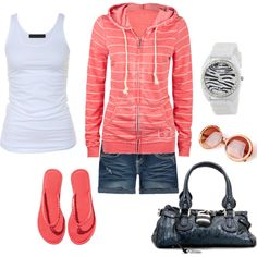 summer outfits   Summer Outfits   Sporty   Fashionista Trends  I want this sweatshirt!