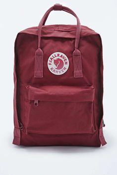 Fjallraven Kanken Classic Backpack in Ox Red