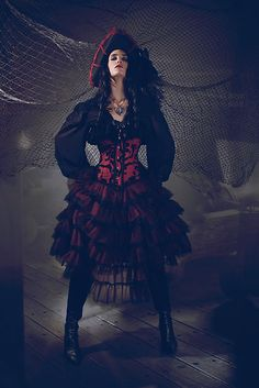 Pirate costume! i love this costume!! i love it love it love it! the corset n sjirt its all amazing!!