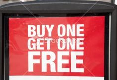 Buy one get one free is a popular marketing tactic for retailers, but is it a good idea? Find out if BOGO will make you money or cost you money. Sales Strategy, Buy One Get One, Lead Generation, My Way, Online Marketing, Make It Yourself, Stuff To Buy, Things To Sell, Perception