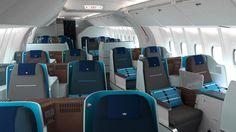 KLM New Business Class