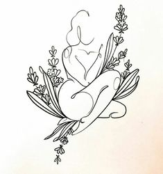 Tattoo Drawings, Body Art Tattoos, Small Tattoos, Art Drawings, Tatoos, Ink Tattoos, Outline Art, Future Tattoos, Drawing Sketches