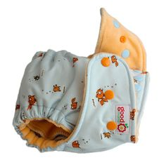 Goldie & School One-Size Fitted Diaper