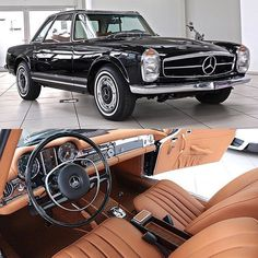 Happy New Year 2018 and Good Luck! Mercedes Benz 280 SL 1970 restored to . Happy New Year 2018 and Good Luck! Mercedes Benz 280 SL 1970 restored to new factory specification at Legend Auto Classic . Pagoda is waiting f. Mercedes Auto, Mercedes Benz Autos, Retro Cars, Vintage Cars, Antique Cars, Maserati, Bugatti, Ferrari, Bmw Classic Cars