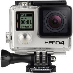 Câmera GoPro Hero4 Black Edition 12 MP Full HD com Wi-Fi embutido - GoPro com o melhor preço é no Walmart!