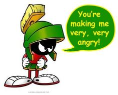 My favourite cartoon character: Marvin the Martian