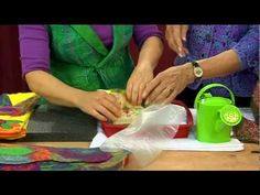 In this clip from Knitting Daily TV episode Artfelting expert Karin Skacel Haack demonstrates with Shay a quick and easy project—a felted camera or cell. Nuno Felting, Needle Felting, Knitting Daily, Felt Material, Art Textile, Felting Tutorials, Tv Episodes, Felt Hearts, In Pantyhose