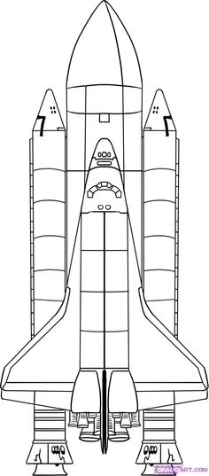 Spaceship Coloring Sheet #mkblueridge #MacKid #macaronikidblueridge