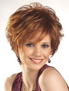 Aubrey in color 32S29 is a textured short-length wig from Tony of Beverly. With layered, soft hair all around and a tapered nape, this wig is sure to impress.   voguewigs.com