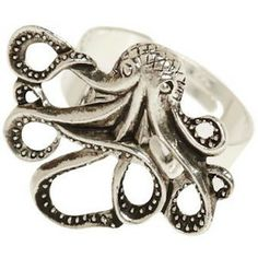 My Pet Octopus Ring  :)