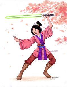 Jedi Mulan Print