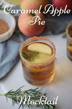 Try this delicious Caramel Apple Pie Mocktail recipe. Perfect for your next party! via @merry120