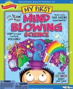 No matter how young kids are, they can appreciate some aspect of science. Even something as simple as bubbles in a pop bottle.  #Colorforms #Creativity
