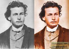 "Richard M. ""Dick"" Brewer ( 1850  1878) circa 1875 Cowboy"