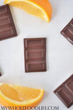 Homemade Orange Chocolate #MyWholeFoodLife