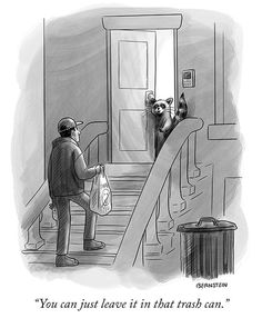 """The New Yorker Cartoons's Instagram profile post: """"A cartoon by @emily.tif. #NewYorkerCartoons"""" New Yorker Cartoons, Good Humor, A Cartoon, The New Yorker, Comics, Funny, Pictures, Fictional Characters, Instagram"""